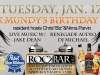 Alex Mundy's Birthday Bash !  Live Music w/ Jake Dean and DJ Michael